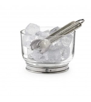 Pewter & Glass Ice Bucket ø 14,3 cm