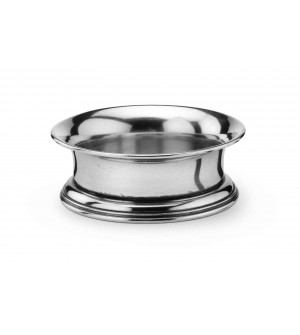 Pewter wine coaster ø cm 14