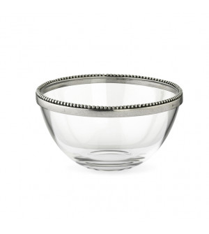 Glass&Pewter Compote ø 13,5 cm