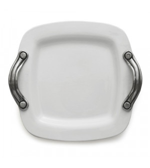 Square Tray with Handles cm 40x40