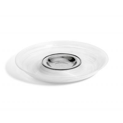 Glass&Zinn Vorspeisenplatte, rund ø 36,5 cm