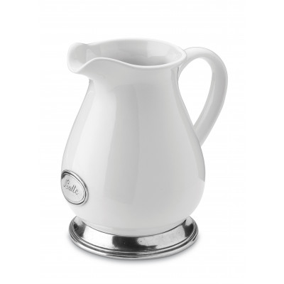 "Krug ""Latte"" mit Fuß h 17 cm"