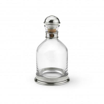 Zinn & Glas Whisky Karaffe h 25 ø 13,7 cm