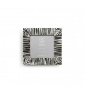 Zinn Bilderrahmen cm 15,5x15,5 - Fotomaß cm 10x10