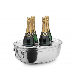 Champagnerkühler mit Deckel 30,5x40,5 - h 12,5 cm