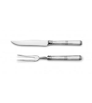 Tranchiergabel und Messer 30,5 cm