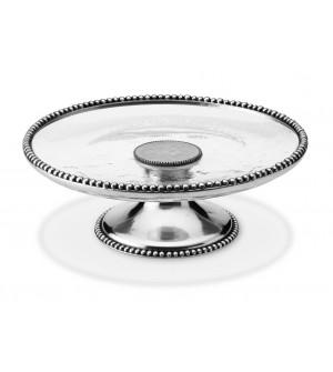 Kuchenplatte auf Fuß ø 32 h 11 cm