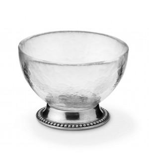 Glasschaelchen auf Fuß ø 11,5 h 8 cm