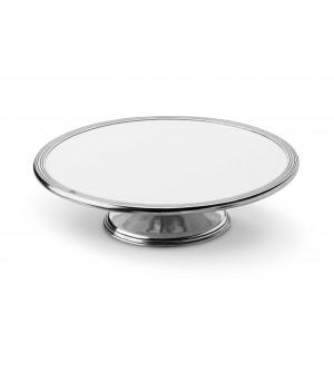 Kuchenplatte auf Fuß ø 33 h 9,5 cm