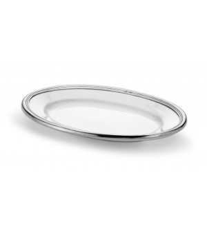 Platte, oval 26x36 cm