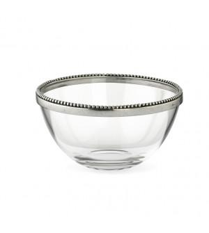 Glas&Zinn Schale, klein ø 13,5 cm